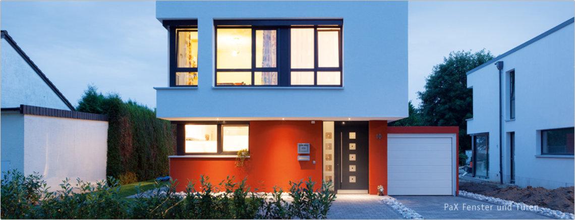 Haus mit Fenster