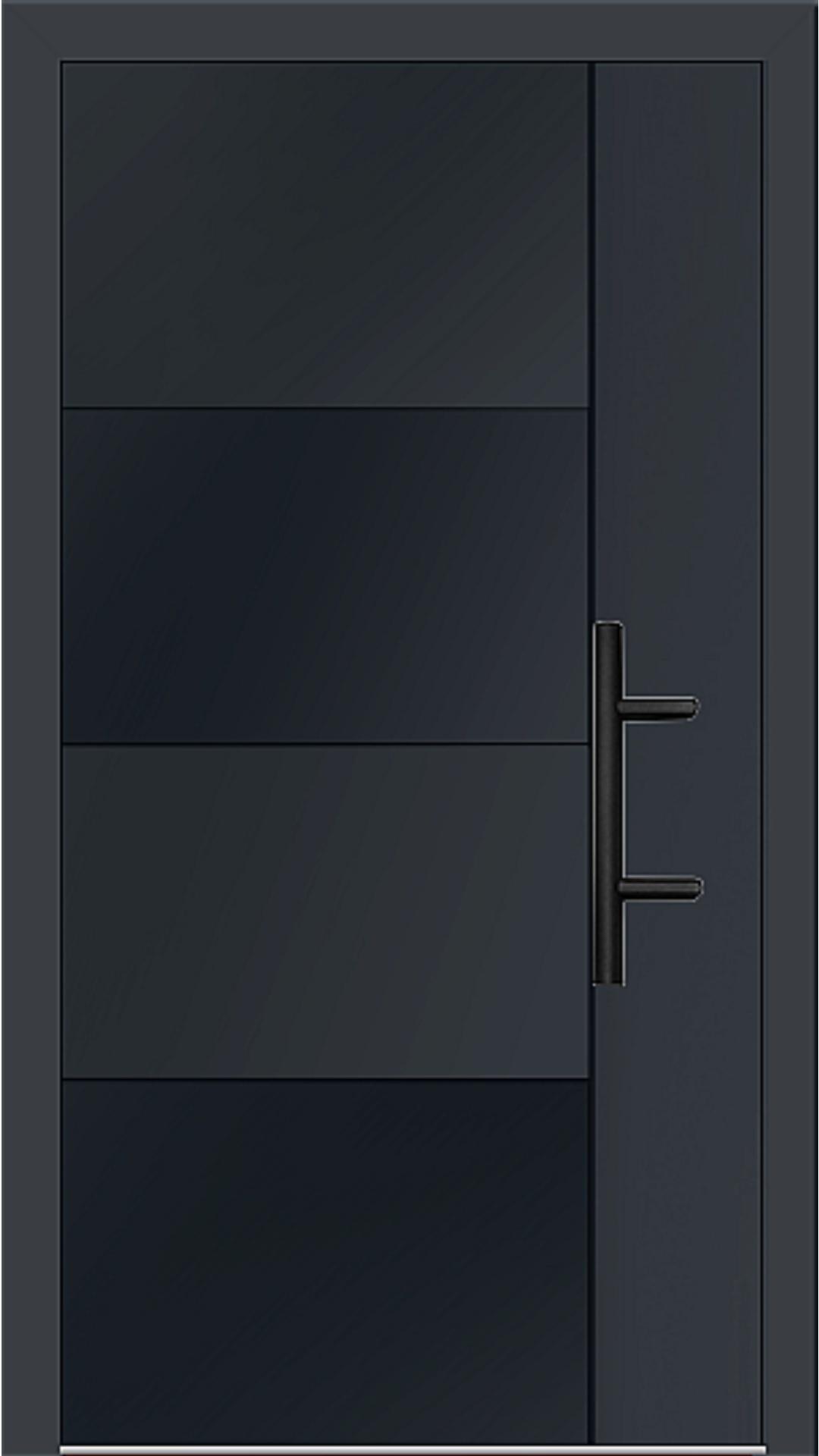 Holz-Alu Haustür Modell 66874 anthrazitgrau