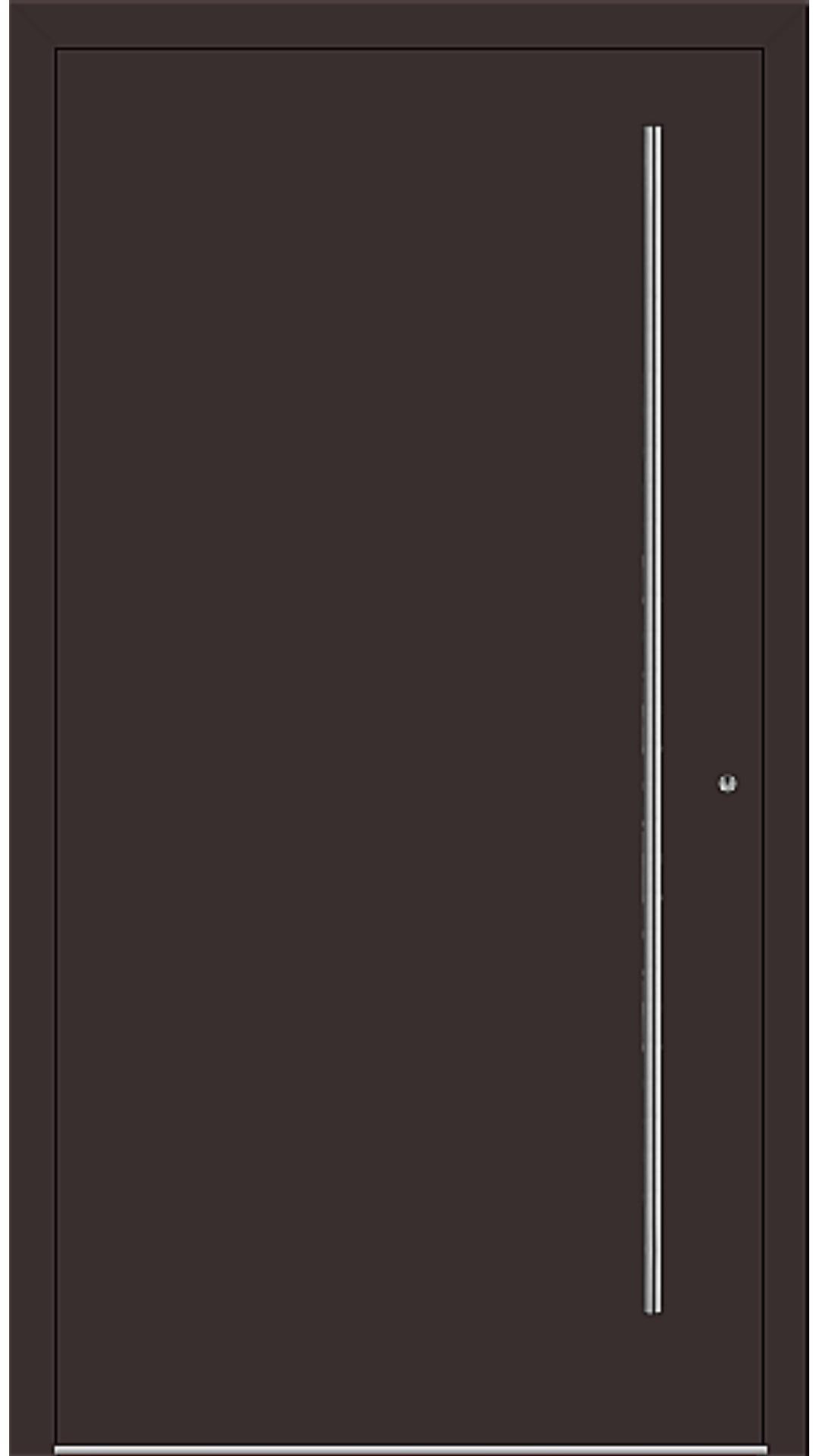 PaXentree Aluminium Haustür M06001 schokoladenbraun