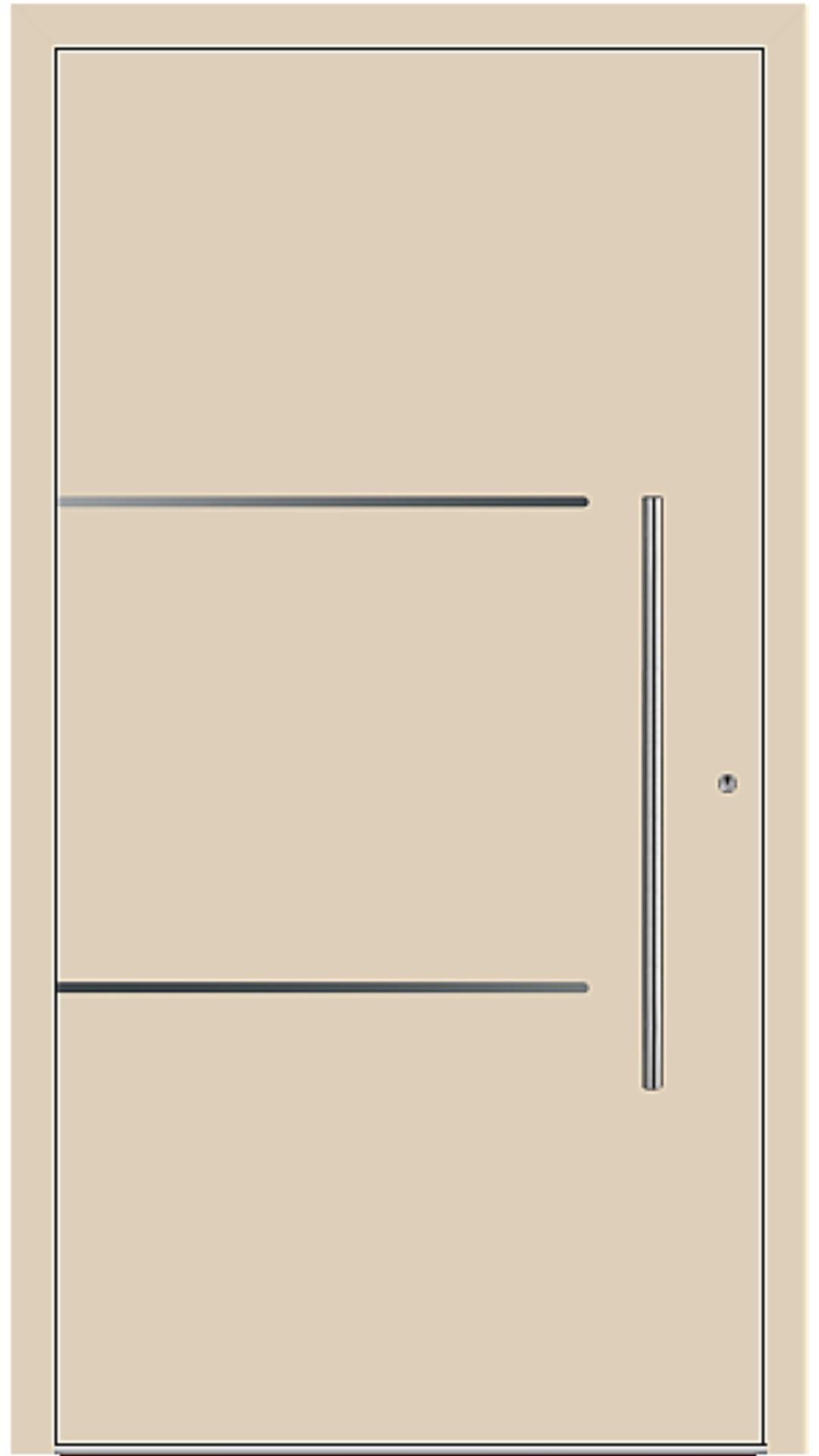 PaXentree Aluminium Haustür M06205 beige