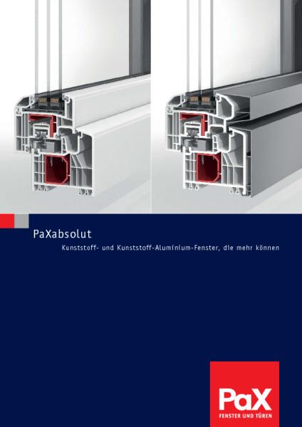 PaXabsolut - Kunststoff-Fenster, die mehr können