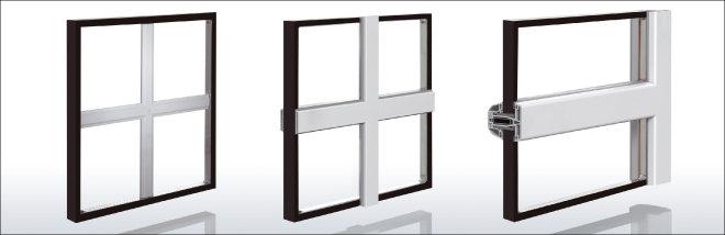 kunststoff fenster mit sprossen in verschiedenen formen. Black Bedroom Furniture Sets. Home Design Ideas