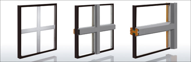 Aluminium holzfenster best mb with aluminium holzfenster - Einfach verglaste fenster ...