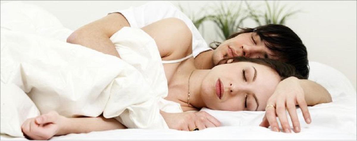 Beruhigt schlafen