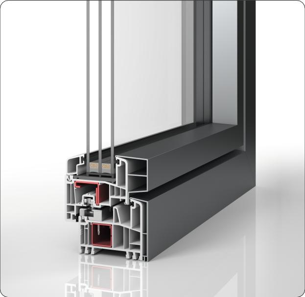 PaXabsolut Neo Alublend Profilschnitt
