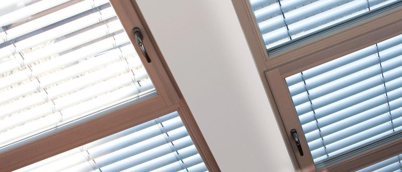 Holz-Aluminium-Fenster-Header
