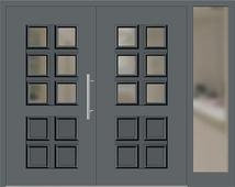 haust ren zweifl gelig mit seitenteil rechts landhaus iii grau konfigurieren. Black Bedroom Furniture Sets. Home Design Ideas
