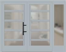 holz haust ren zweifl gelig mit seitenteil rechts grau konfigurieren. Black Bedroom Furniture Sets. Home Design Ideas