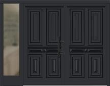 holz haust ren zweifl gelig mit seitenteil links konfigurieren. Black Bedroom Furniture Sets. Home Design Ideas