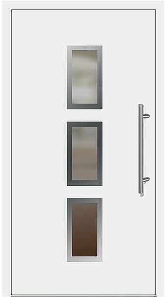 aluminium haust r modell favorit 5 wei. Black Bedroom Furniture Sets. Home Design Ideas
