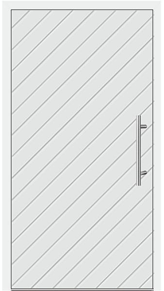 kunststoff haust r modell 13 92 wei. Black Bedroom Furniture Sets. Home Design Ideas