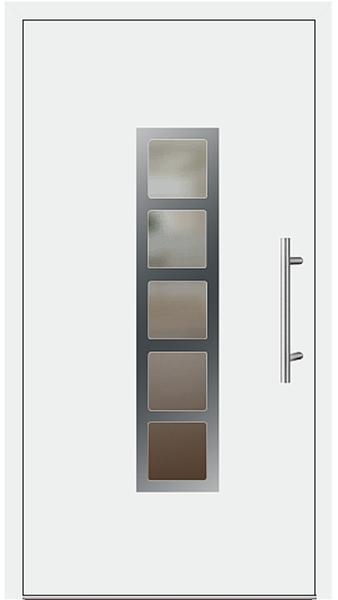 kunststoff haust r modell 171 70 wei. Black Bedroom Furniture Sets. Home Design Ideas