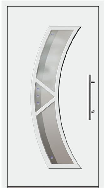 kunststoff haust r modell 181 65 wei. Black Bedroom Furniture Sets. Home Design Ideas
