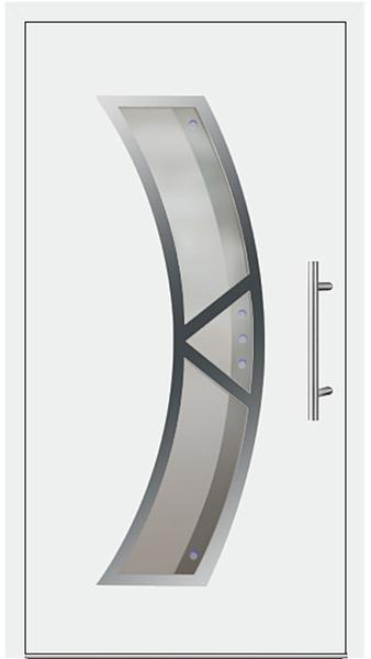kunststoff haust r modell 181 75 wei. Black Bedroom Furniture Sets. Home Design Ideas