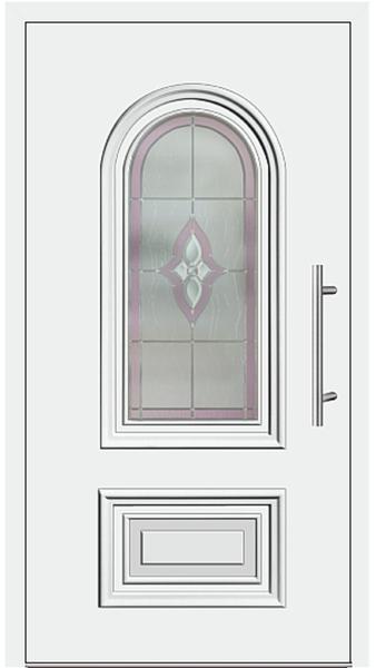 kunststoff haust r modell 219 10 wei. Black Bedroom Furniture Sets. Home Design Ideas