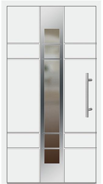 kunststoff haust r modell 2700 79 wei. Black Bedroom Furniture Sets. Home Design Ideas