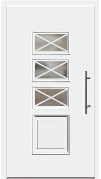 kunststoff haust r modell 340 15 wei. Black Bedroom Furniture Sets. Home Design Ideas