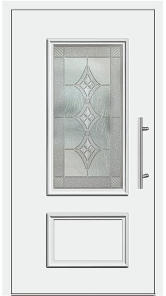 kunststoff haust r modell 420 10 wei. Black Bedroom Furniture Sets. Home Design Ideas