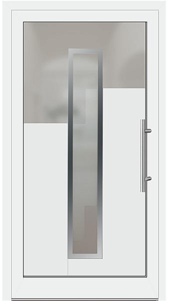 kunststoff haust r modell 426 g wei. Black Bedroom Furniture Sets. Home Design Ideas