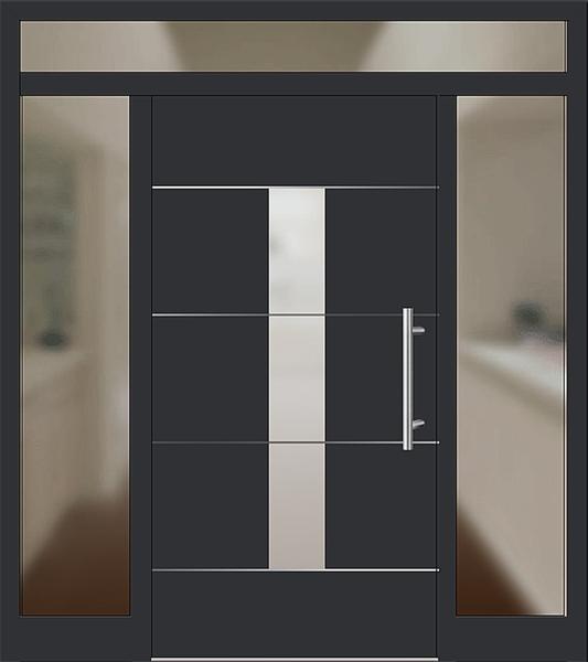 kunststoff haustr mit seitenteil trendy aluhaustr mit seitenteil modell barthe with kunststoff. Black Bedroom Furniture Sets. Home Design Ideas
