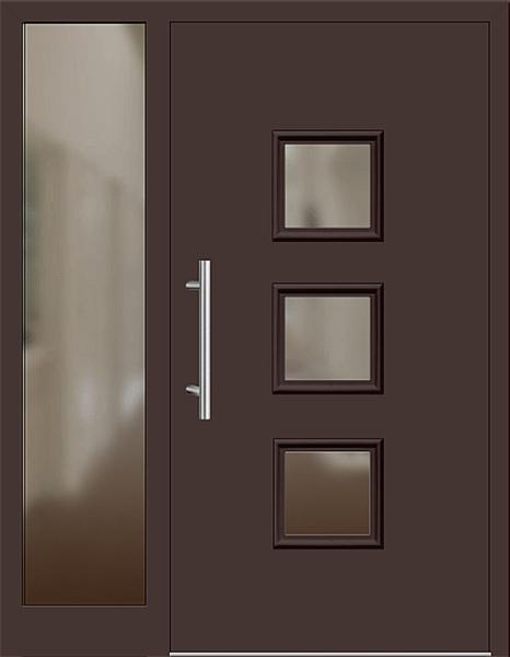 kunststoff haust r modell 6418 60 mahagonibraun haust ren. Black Bedroom Furniture Sets. Home Design Ideas