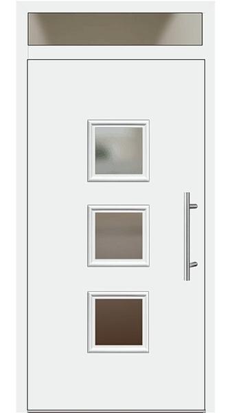 kunststoff haust r modell 6418 60 wei haust ren mit oberlicht. Black Bedroom Furniture Sets. Home Design Ideas
