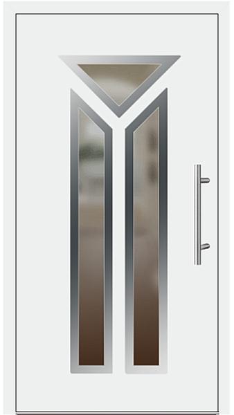 kunststoff haust r modell 6446 70 wei. Black Bedroom Furniture Sets. Home Design Ideas