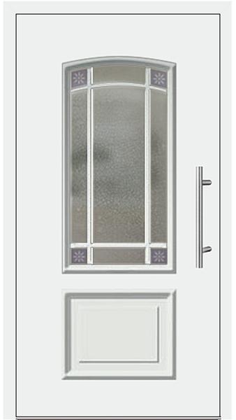 kunststoff haust r modell 6456 15 wei. Black Bedroom Furniture Sets. Home Design Ideas