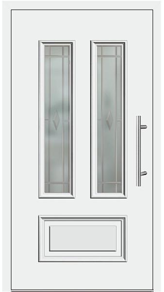 kunststoff haust r modell 6547 10 wei. Black Bedroom Furniture Sets. Home Design Ideas