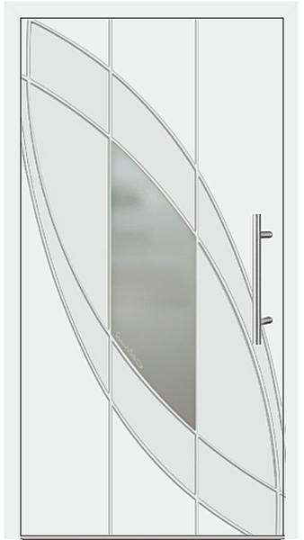 kunststoff haust r modell 6999 41 wei. Black Bedroom Furniture Sets. Home Design Ideas