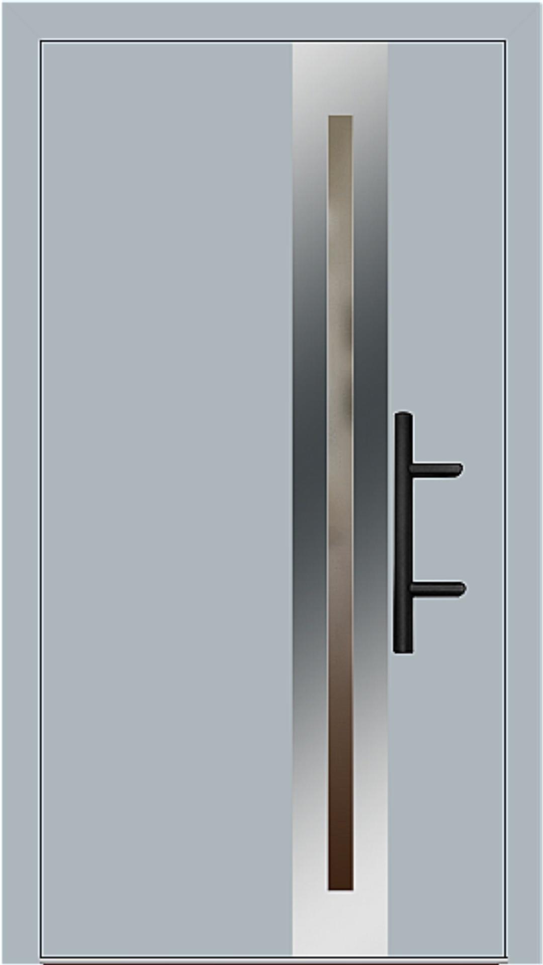 Holz-Alu Haustür Modell 66398 fehgrau