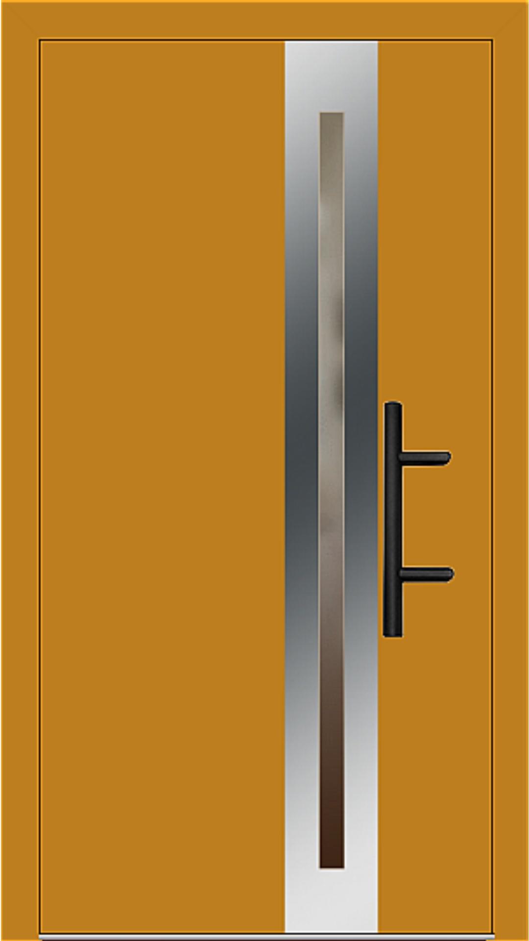 Holz-Alu Haustür Modell 66398 honiggelb