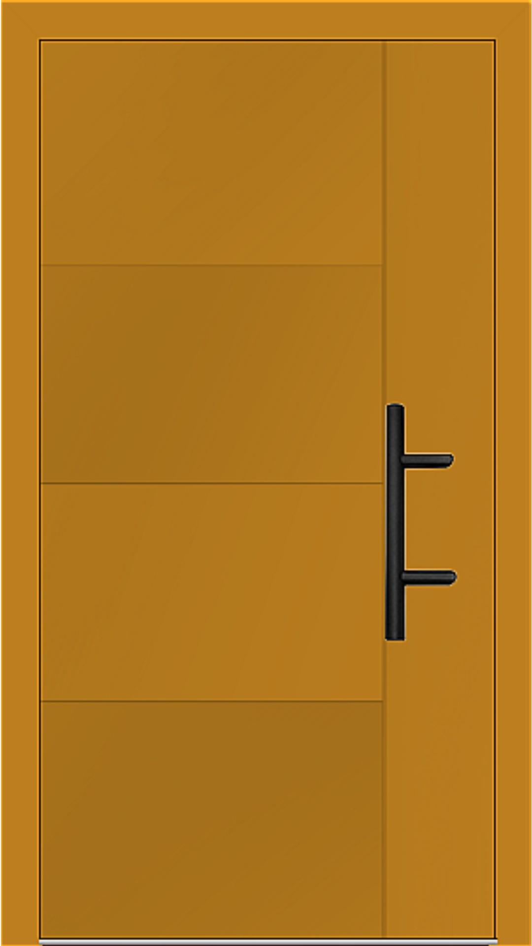 Holz-Alu Haustür Modell 66874 honiggelb