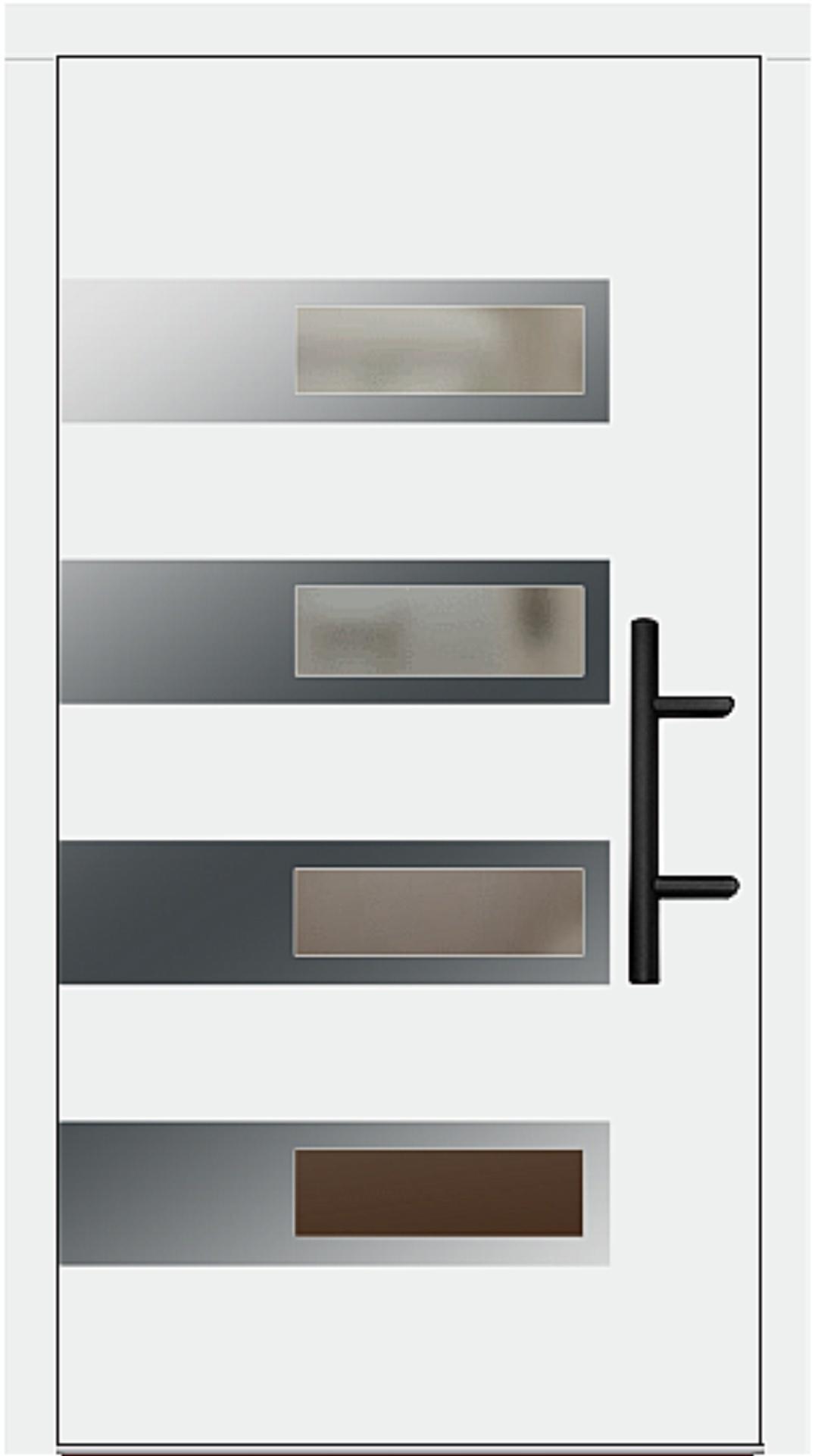 Holz Haustür Modell 70660 weiß