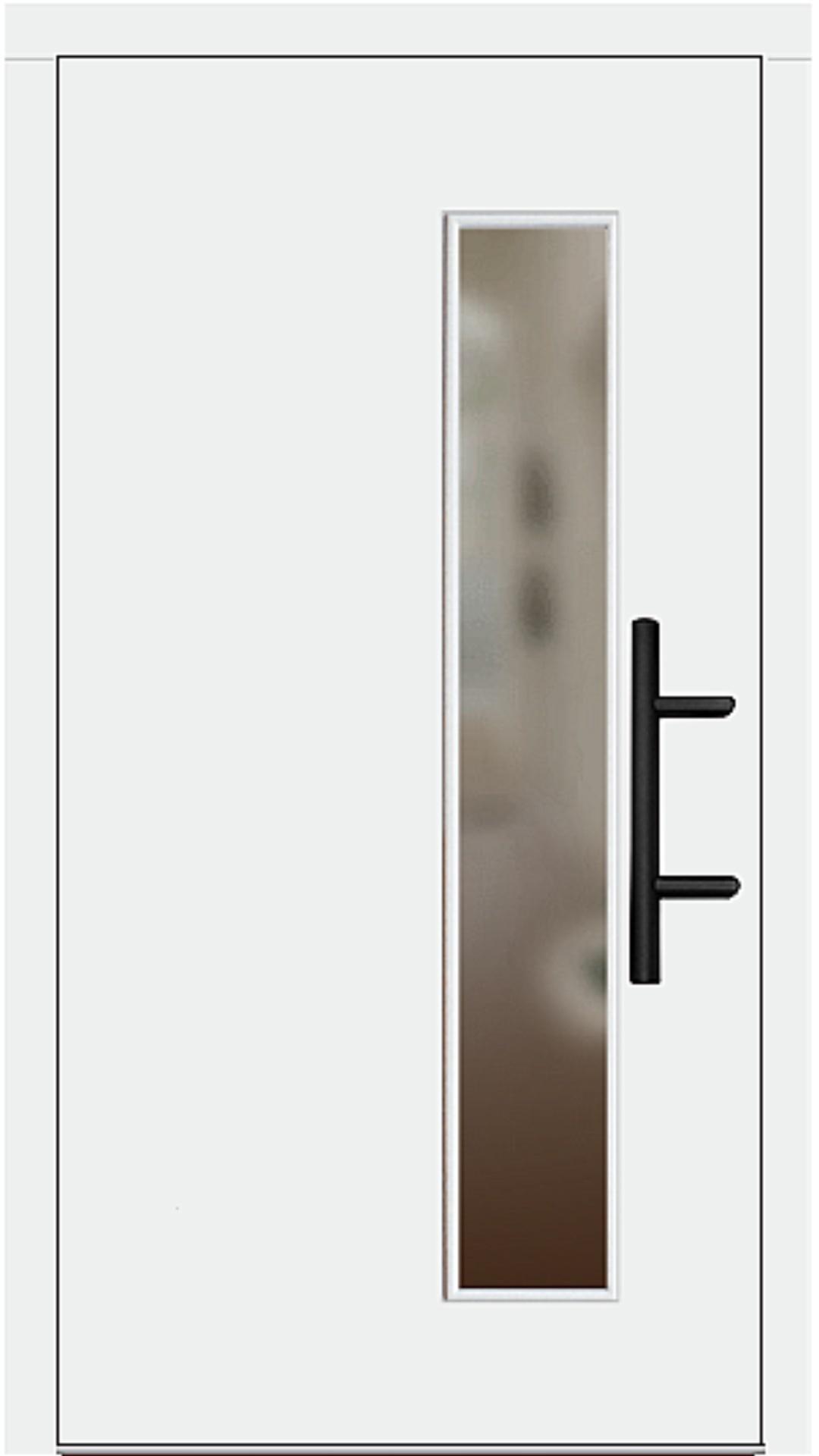 Holz Haustür Modell 8070 weiß