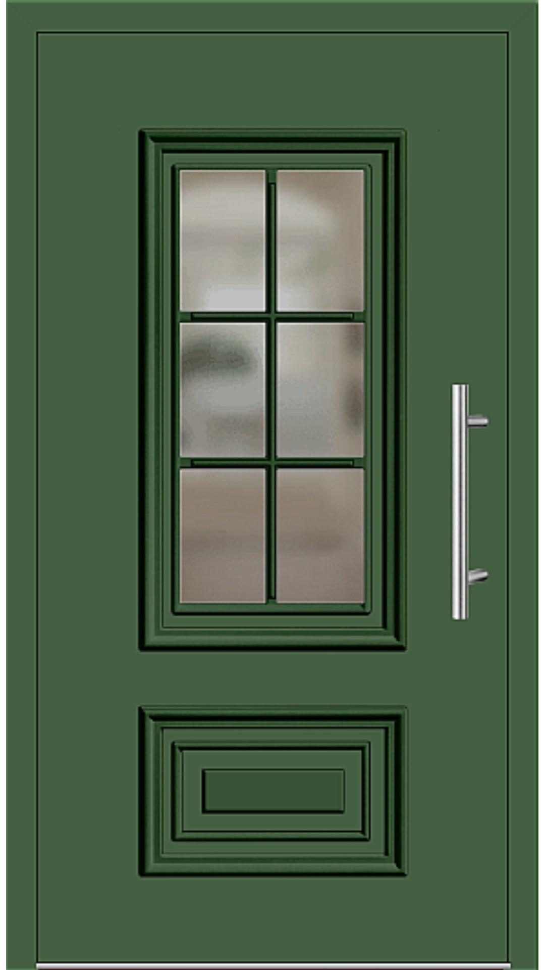 Kunststoff Haustür Modell 217-15 laubgrün