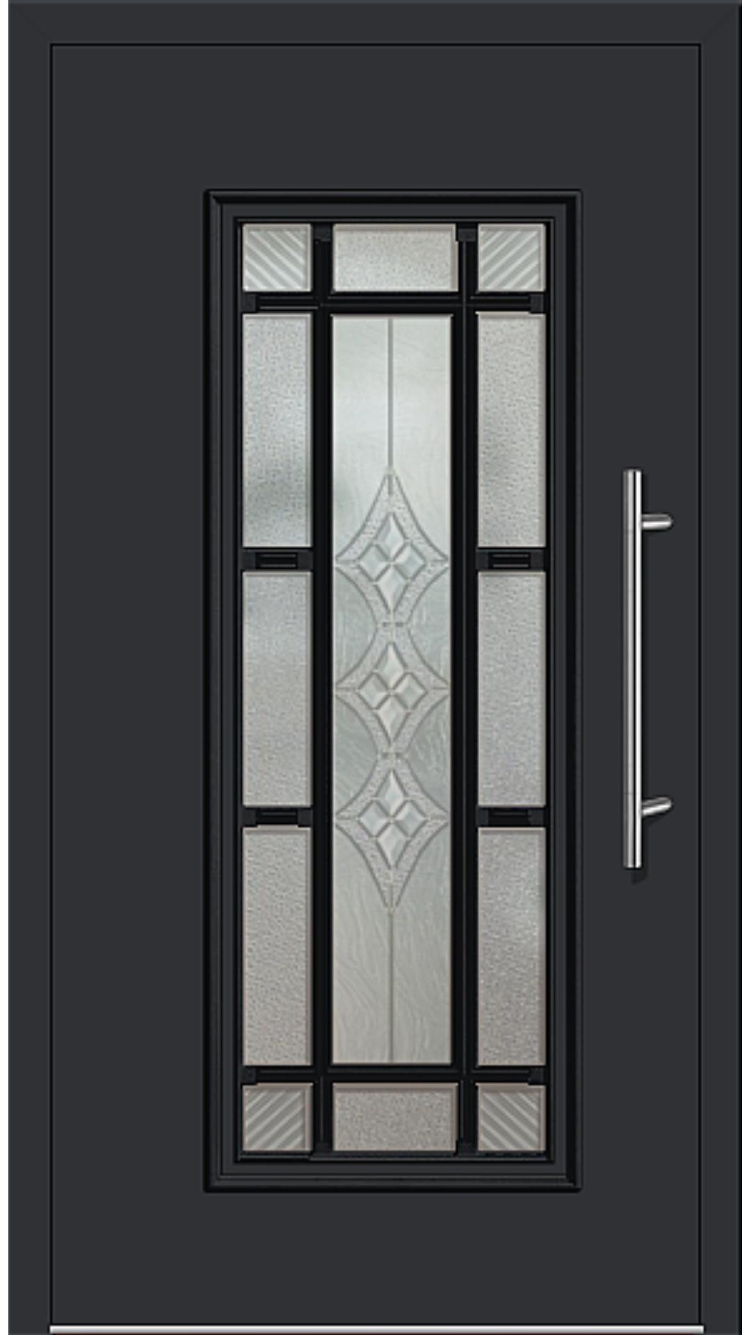 Kunststoff Haustür Modell 4151-11 schwarz