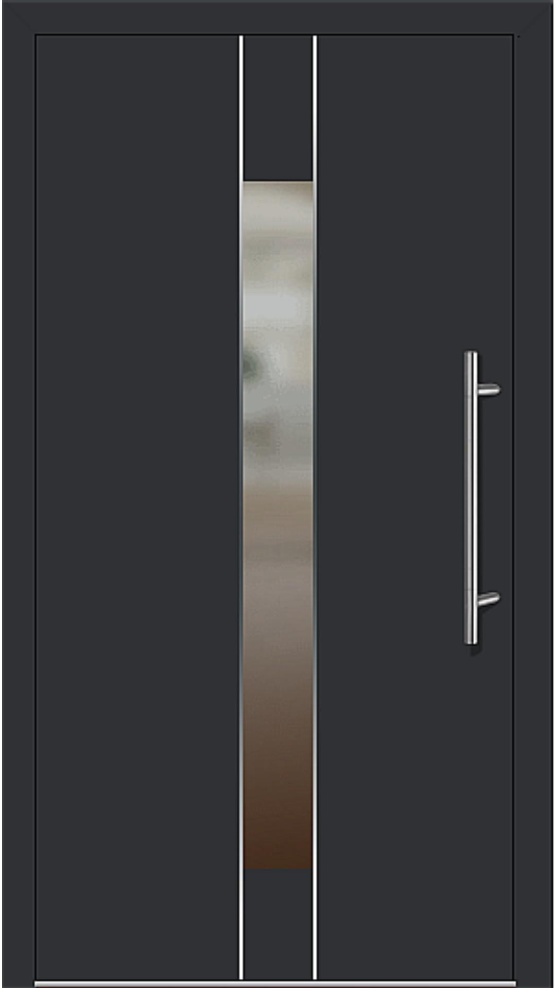 Kunststoff Haustür Modell 6182-54 schwarz