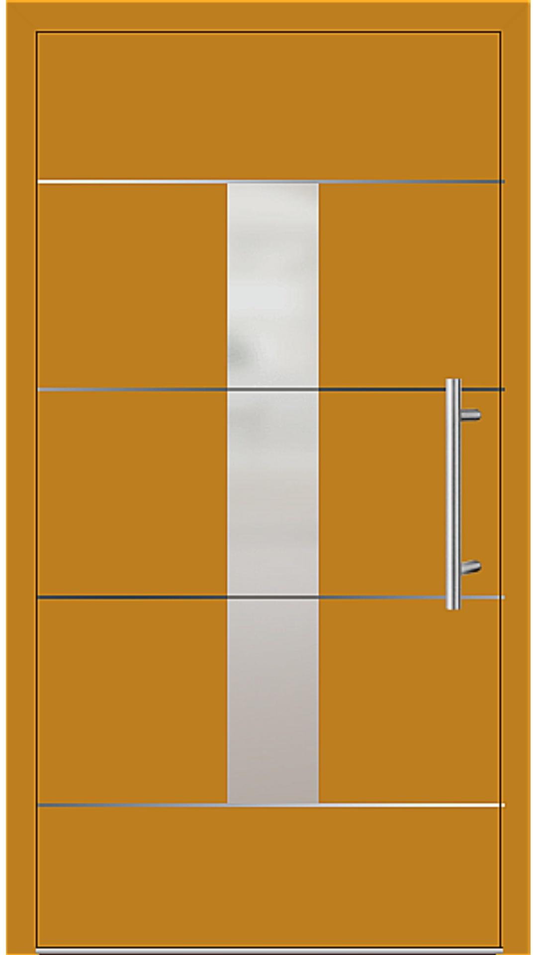 Kunststoff Haustür Modell 6184-54 honiggelb