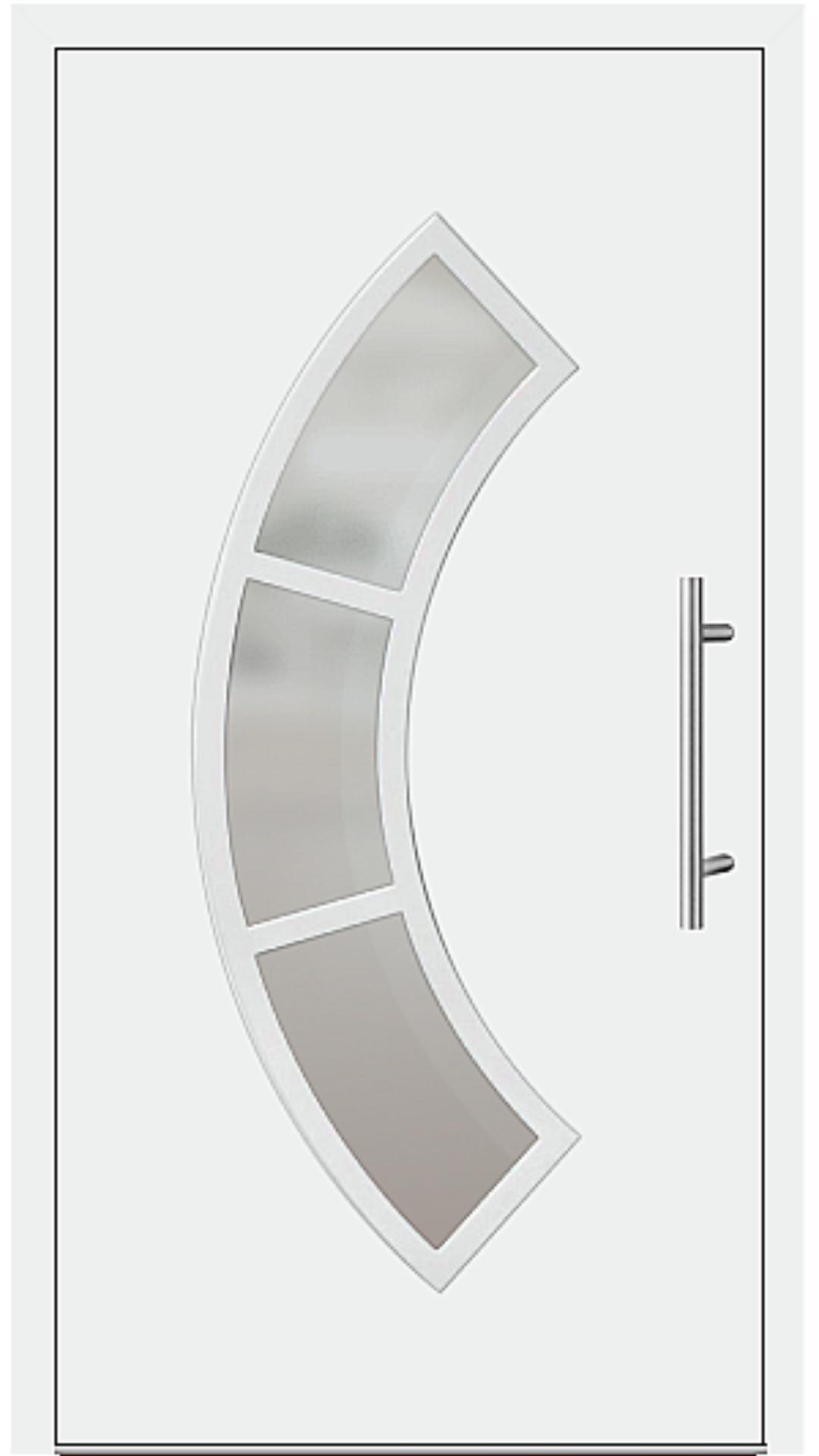 Kunststoff Haustür Modell 6440-65 weiß
