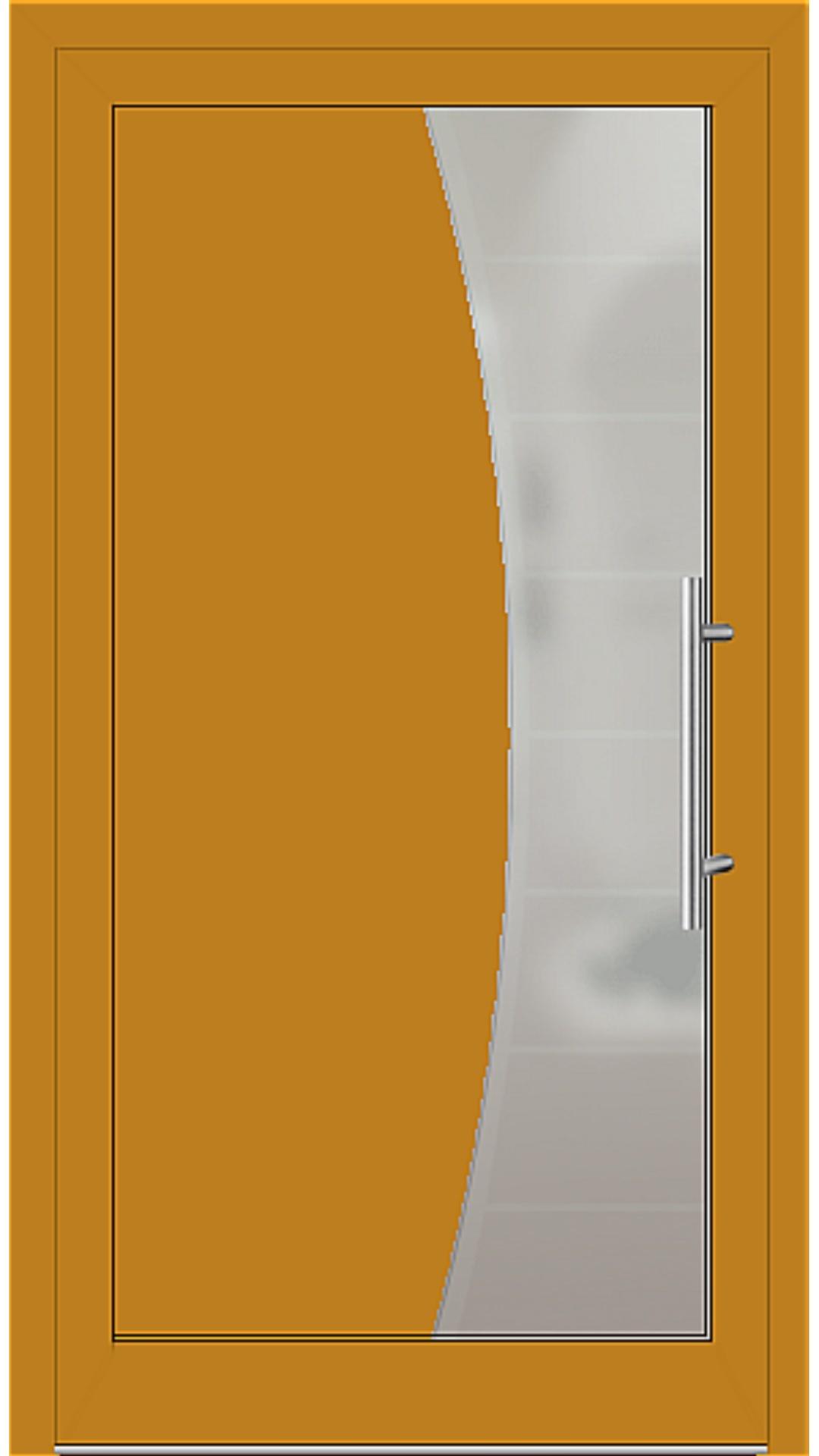 Kunststoff Haustür Modell 6516-50 honiggelb