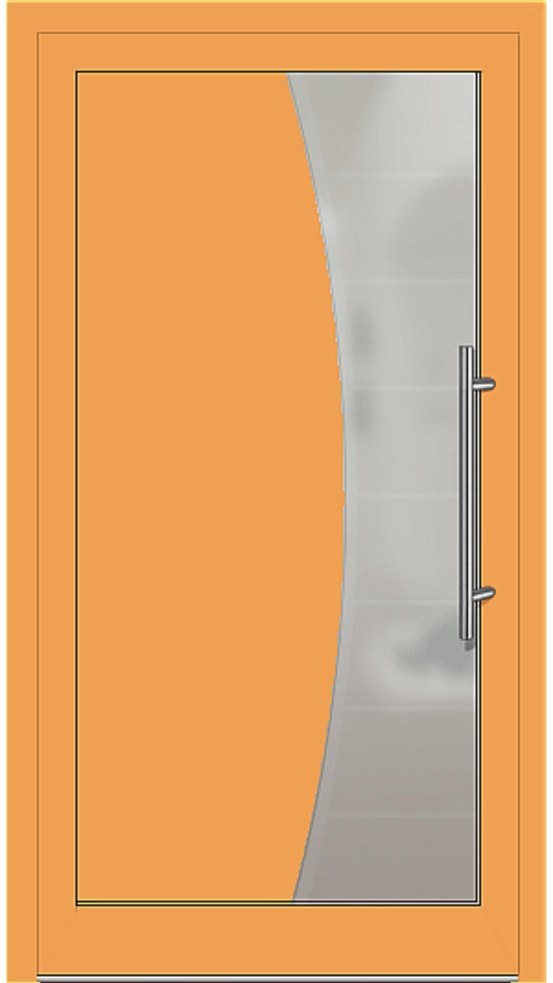 Kunststoff Haustür Modell 6516-50 safrangelb