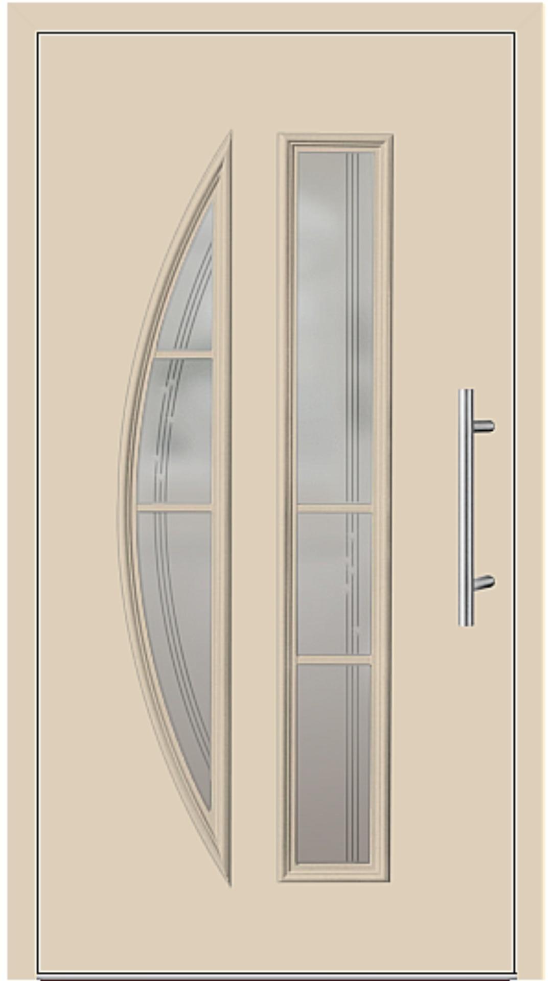 Kunststoff Haustür Modell 6525-65 beige