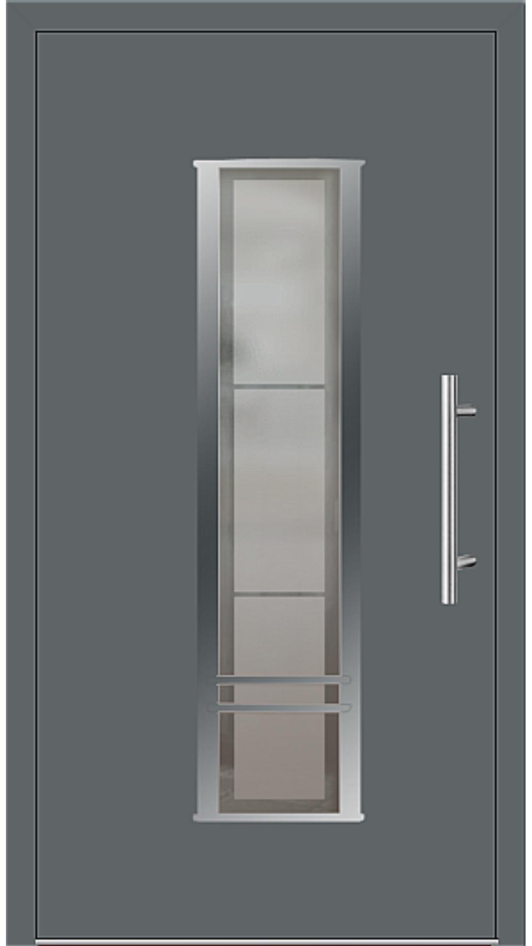 Kunststoff Haustür Modell 6817-79 basaltgrau