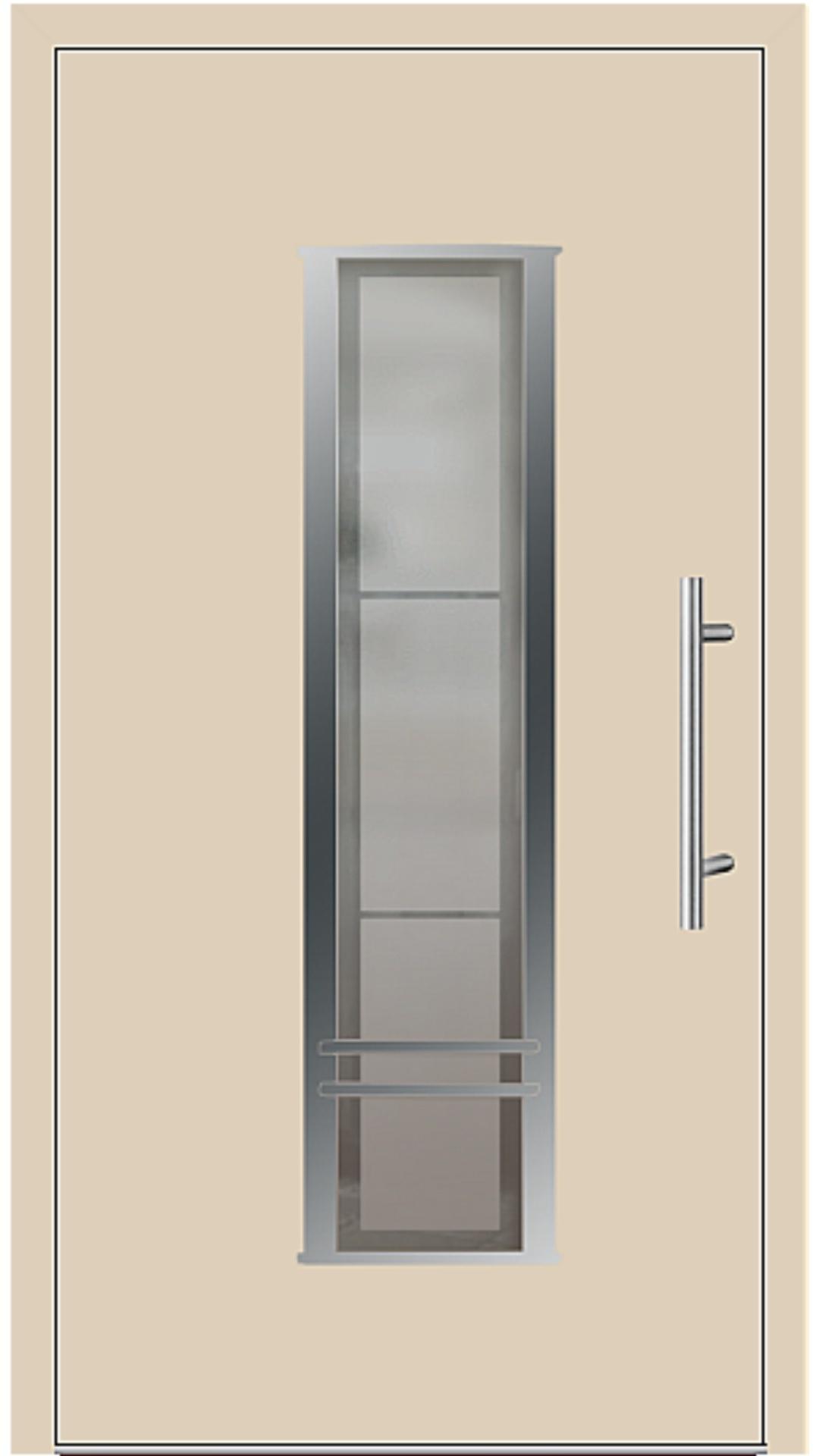 Kunststoff Haustür Modell 6817-79 beige
