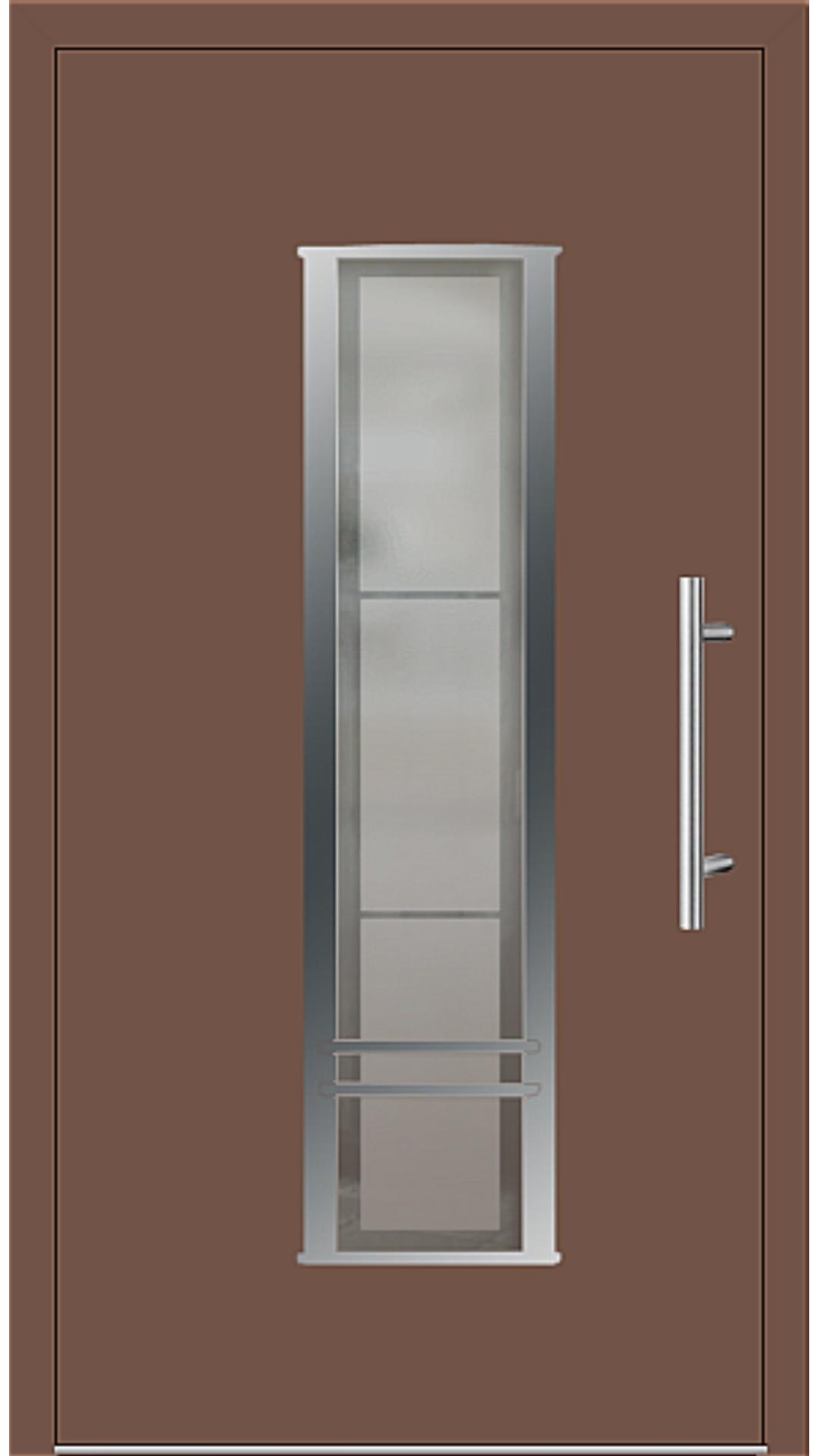 Kunststoff Haustür Modell 6817-79 lehmbraun
