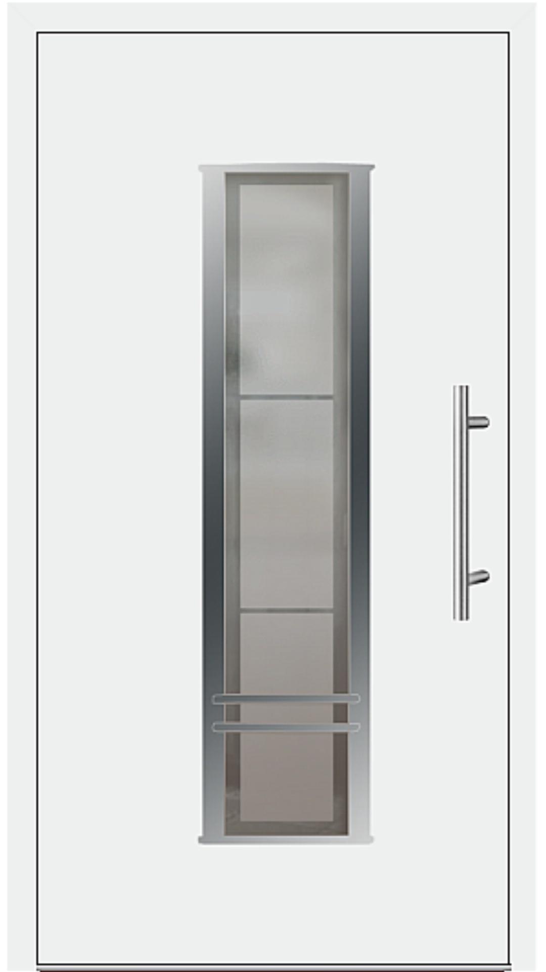 Kunststoff Haustür Modell 6817-79 weiß