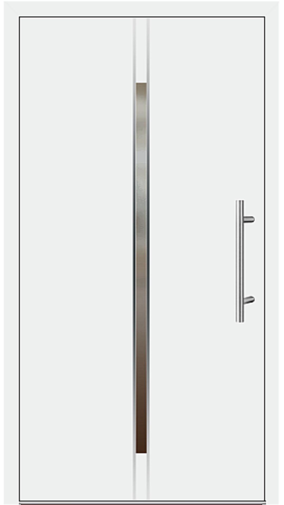 Kunststoff Haustür Modell 6864-53 weiß