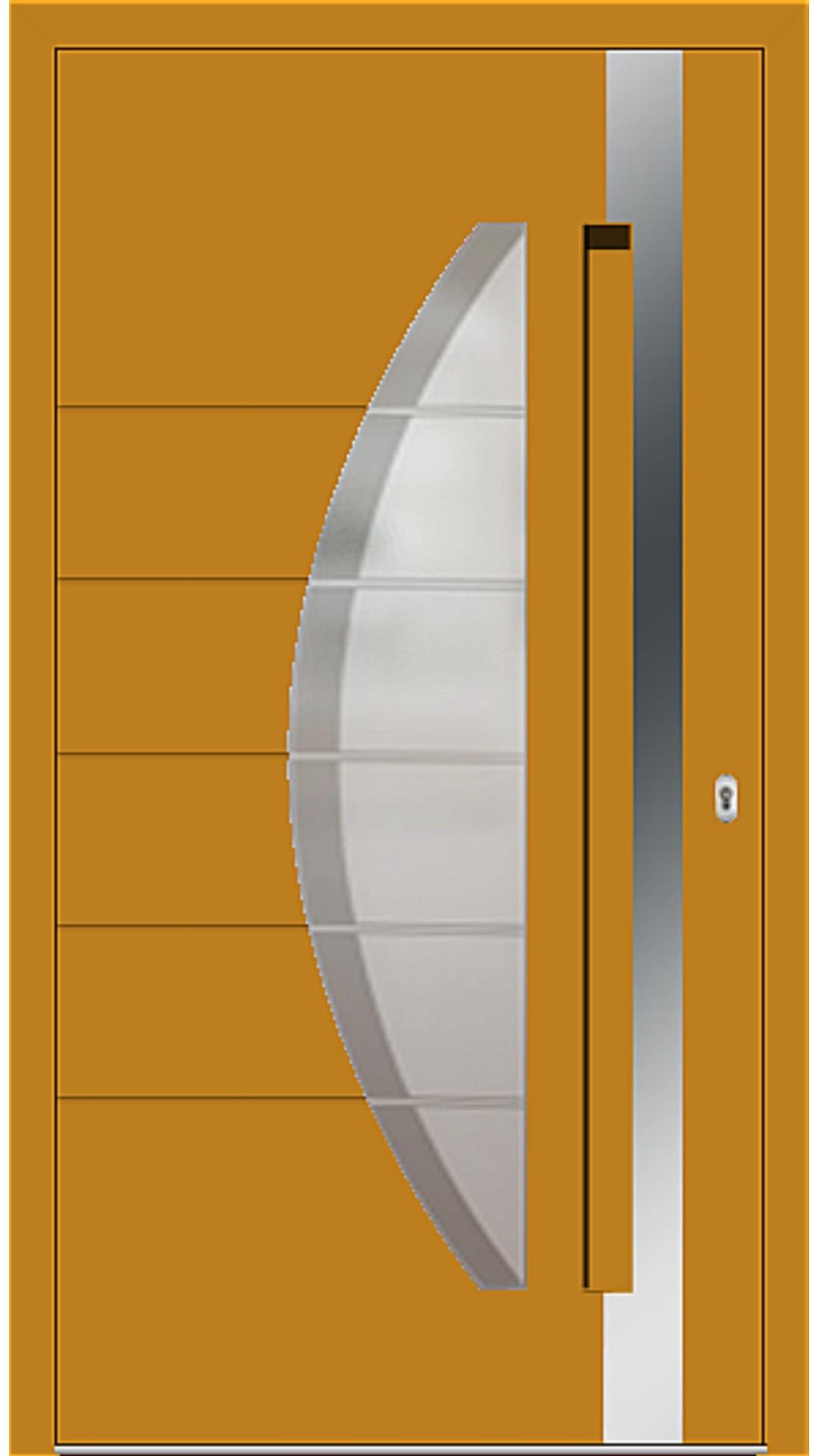 Kunststoff Haustür Modell 6973-40 honiggelb