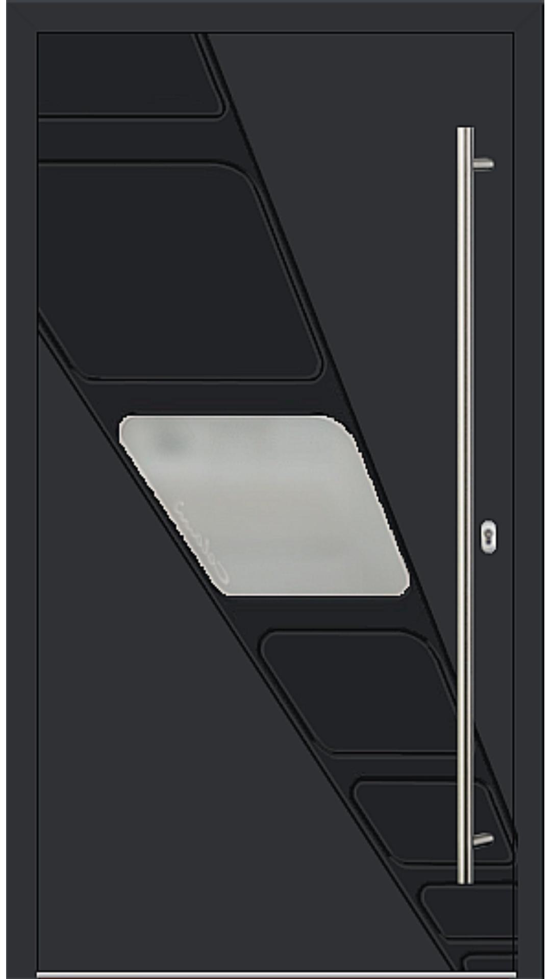 Kunststoff Haustür Modell 6994-41 schwarz